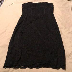 Diane von Furstenberg 'Bailey' Piped Lace Dress